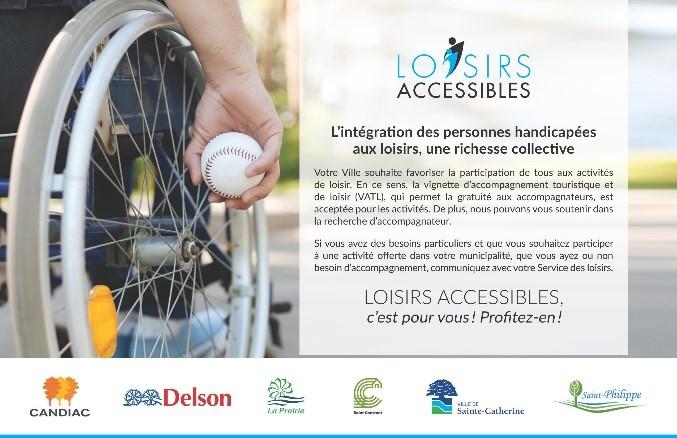 Loisirs accessibles: l'intégration des personnes handicapées, une richesse collective!