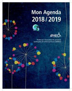Page couverture de l'agenda