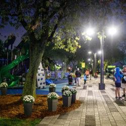 Sainte-Catherine inaugure le premier parc à accessibilité universelle de la région