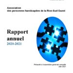 Notre rapport annuel 2020-2021